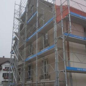 Fassadengerüst Neubau und Umbau