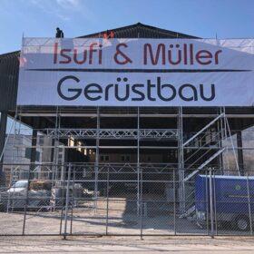 Isufi-Müller-Gerüstbau-Gerüst