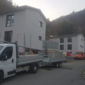 Montagehaus - Gerüst