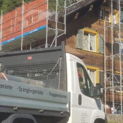 Spengler Gerüst - Fassadengerüst