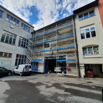 Fassadengerüst - Malergerüst Glarus