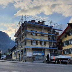 Fassadenrenovation Hüntwangen