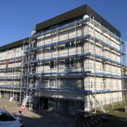 Fassadenrenovation Knonau