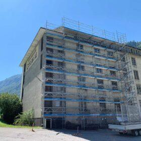 Fassadengerüst Schweiz