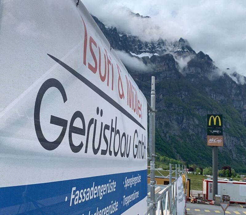 Gerüstbau Glarus - Isufi Gerüste AG