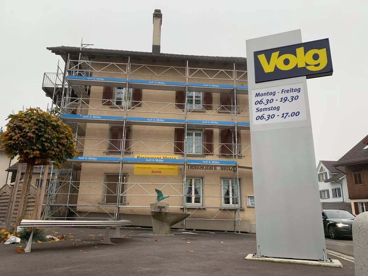 Isufi Gerüste AG - Fassadengerüst mieten Schweiz