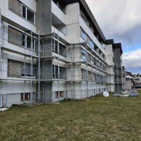 Gerüst Bad Ragaz - Fassadengerüst Bad Ragaz & Treppenturm